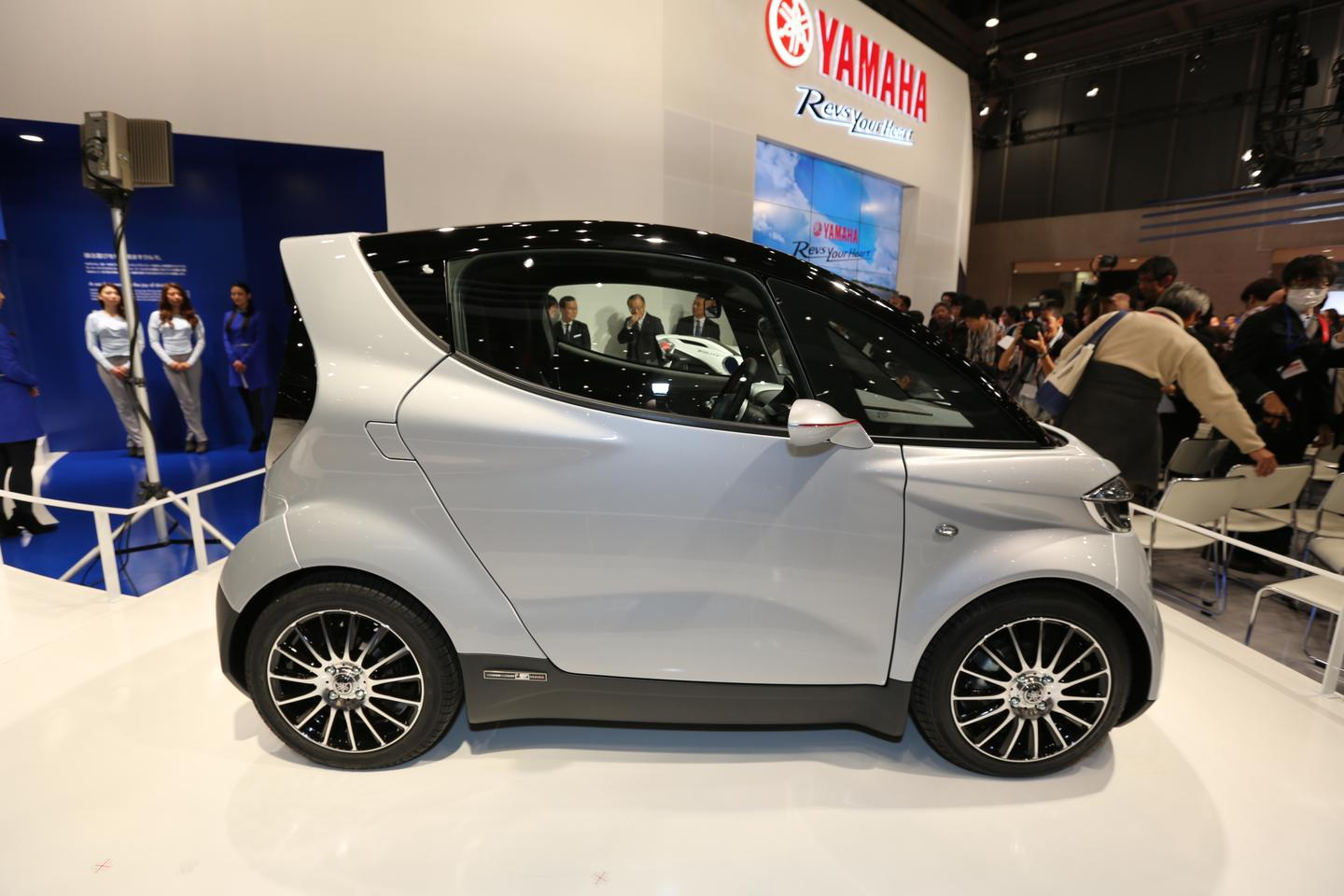 Yamaha's exciting new Motiv.e two-seater