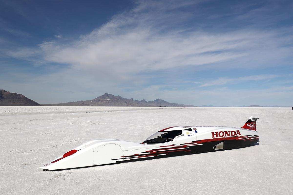 The S-Dream has claimed the title of world's fastest Honda