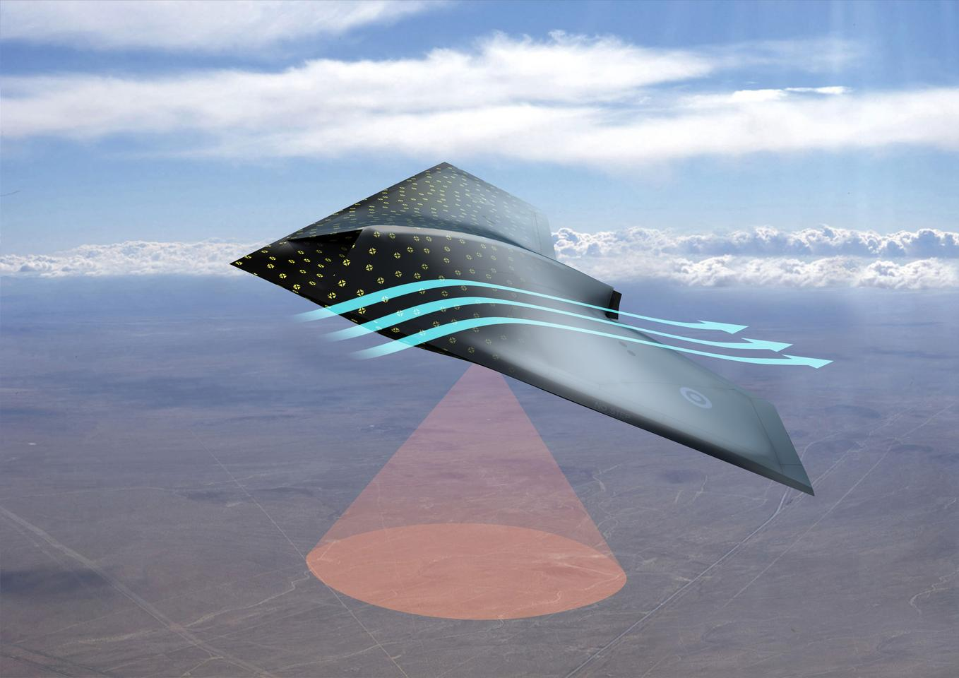 The BAE smart skin would turn the entire hull of an aircraft into a sensor array