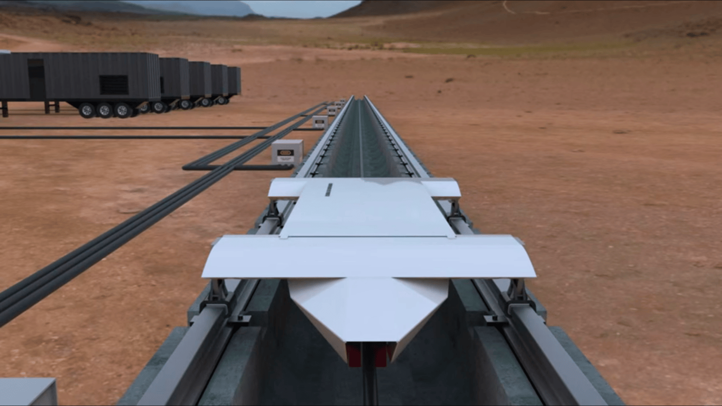 Hyperloop Technologies plans to start testing its transport system in Nevada next month