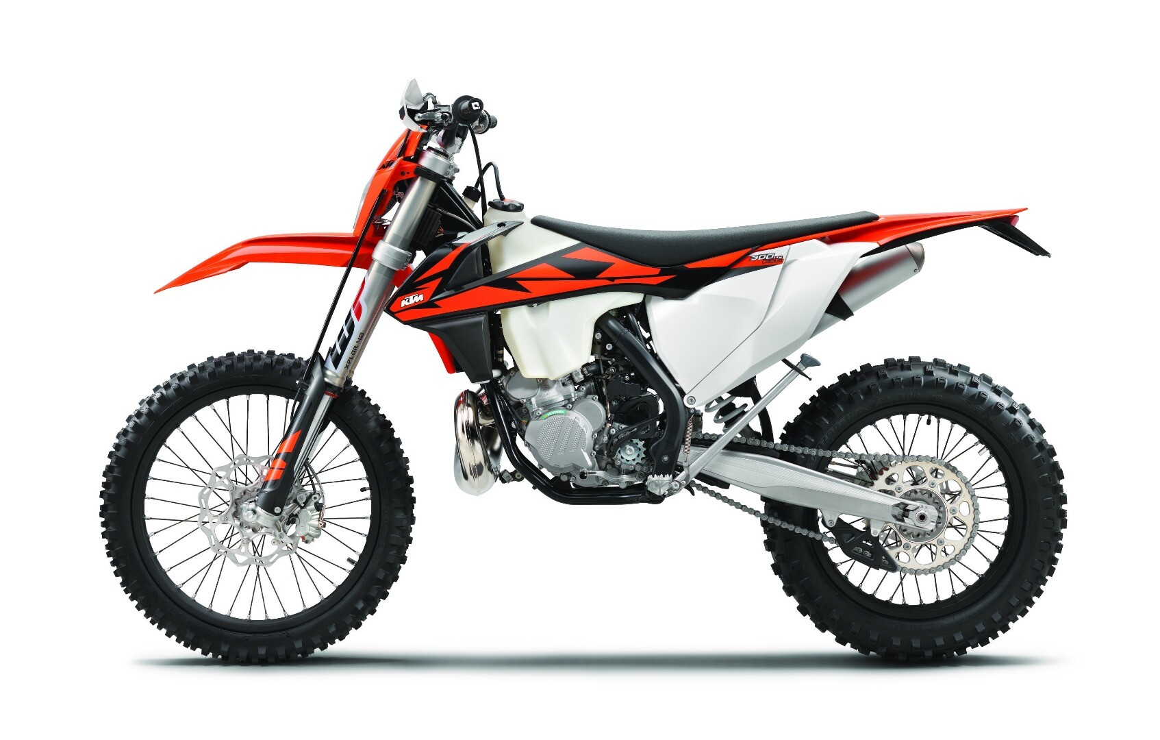 KTM breathes new life to the two-stroke engine with the new 250 and 300 EXC TPI