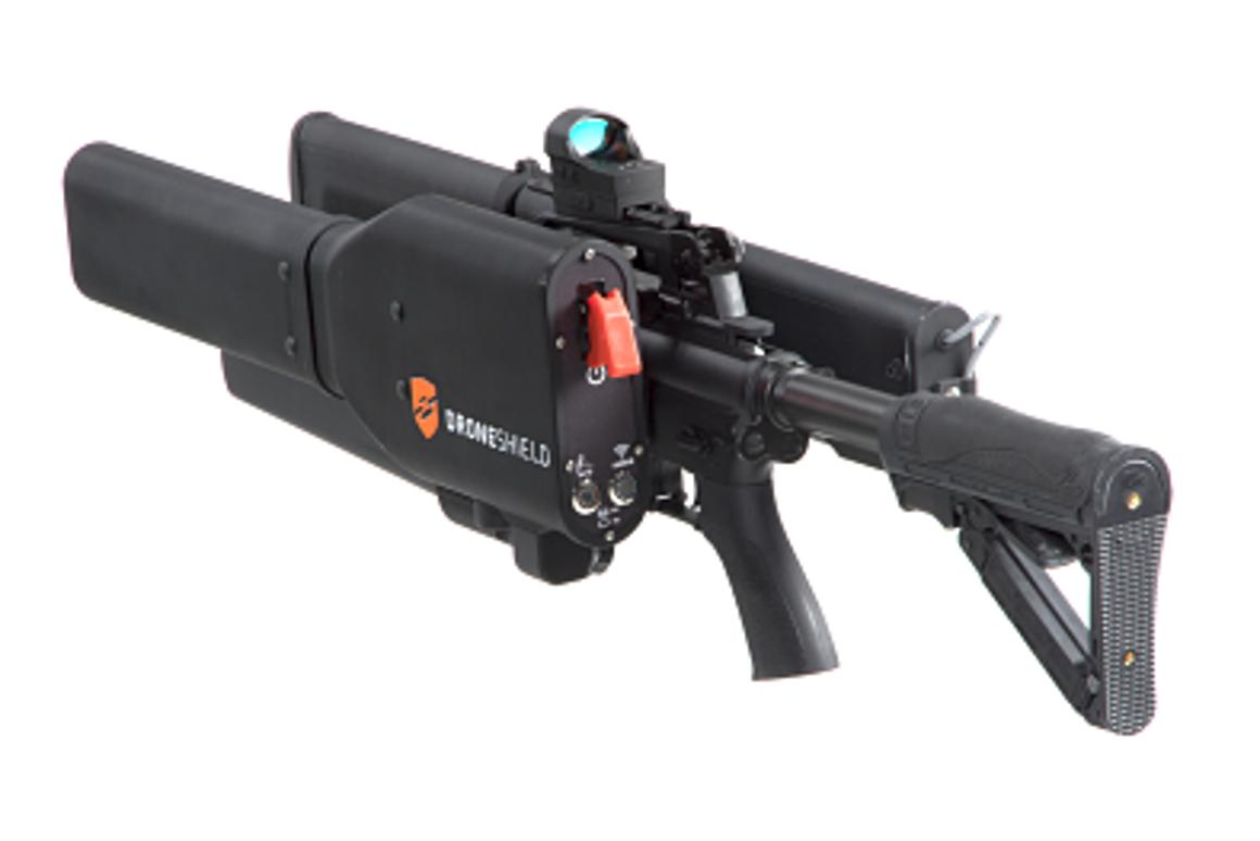 Long-range anti-drone gun can secure the entire neighborhood