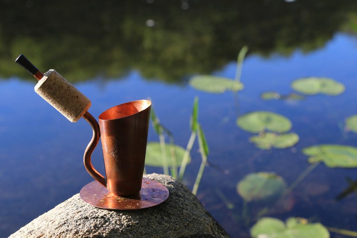 The Bripe letsyou enjoy a shot of coffee virtuallyanywhere