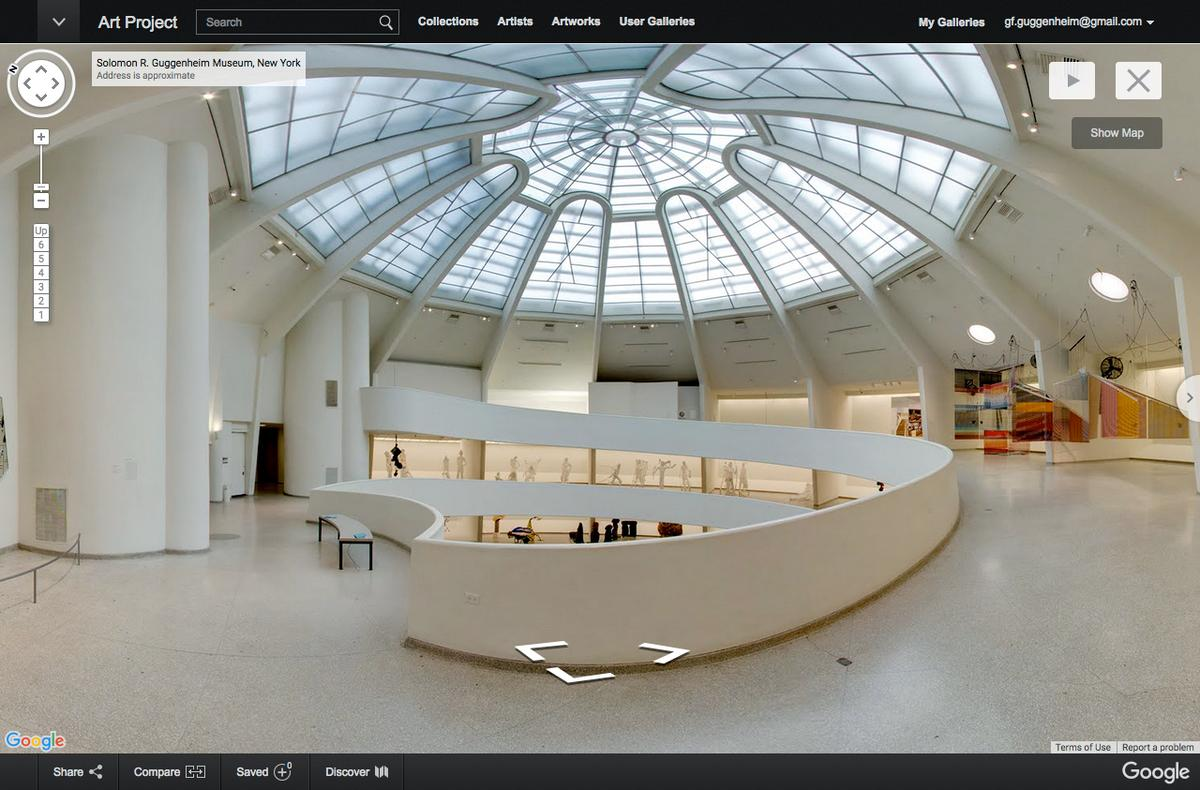 The Solomon R. Guggenheim Foundation collaborated with Google to make over 120 artworks available for online viewing
