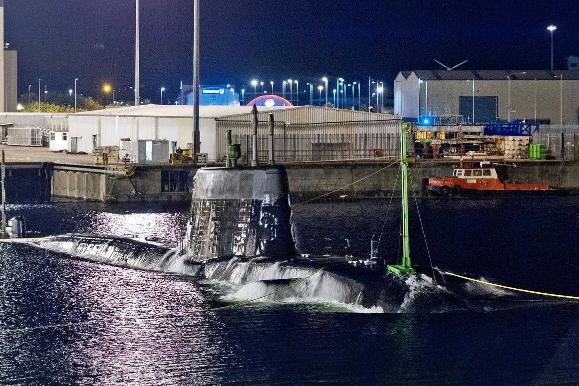 Artful is the third of the Astute class nuclear attack submarines (Image: BAe Systems)