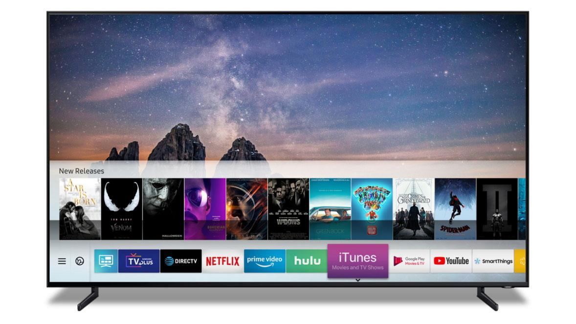 Samsung Smart TVs from 2018 and 2019 are getting iTunes and AirPlay 2 support