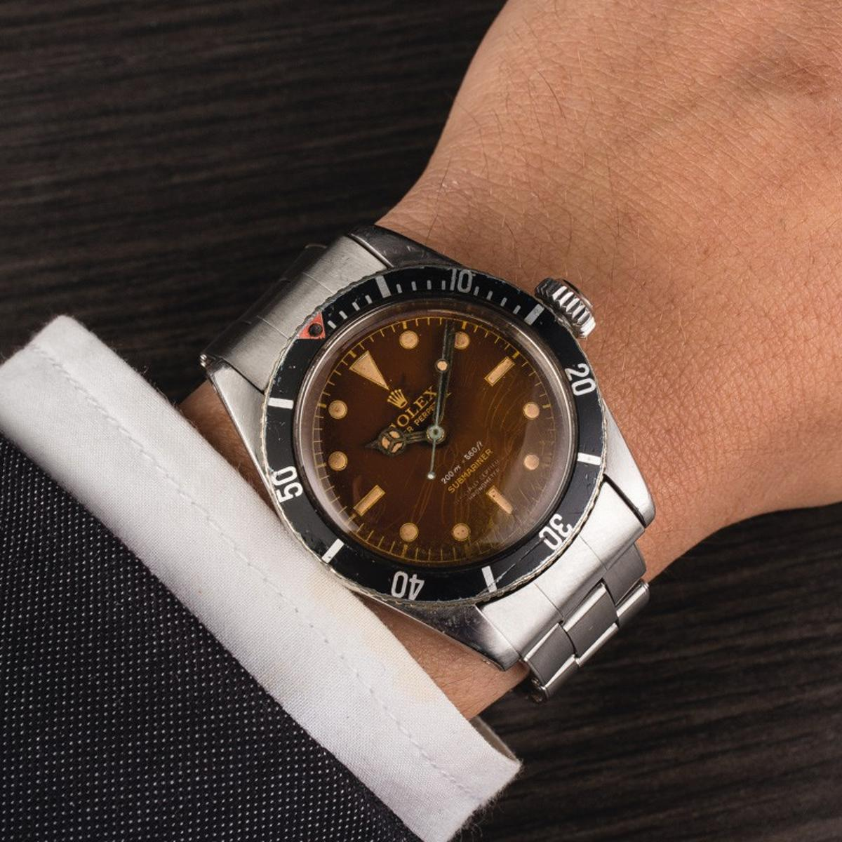 The Rolex Submariner Reference 6538 is the same as that worn by Sean Connery in Dr No
