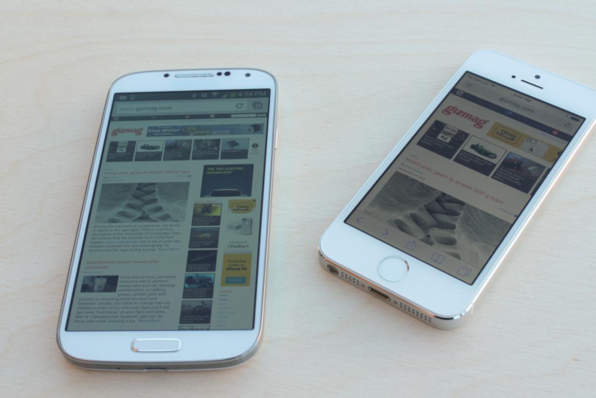 Under the Microscope: iPhone 5s vs  Samsung Galaxy S4
