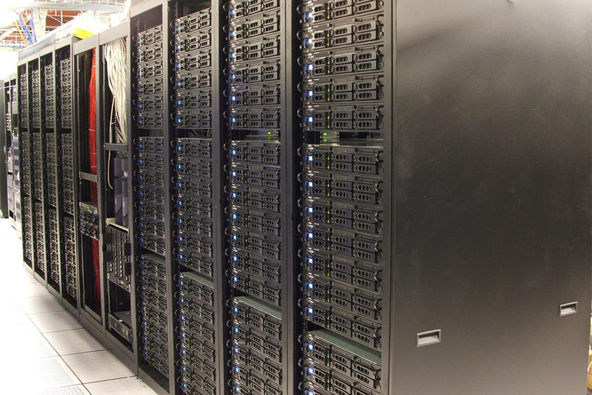 An example of a typical server cluster (Image: Creative Commons)