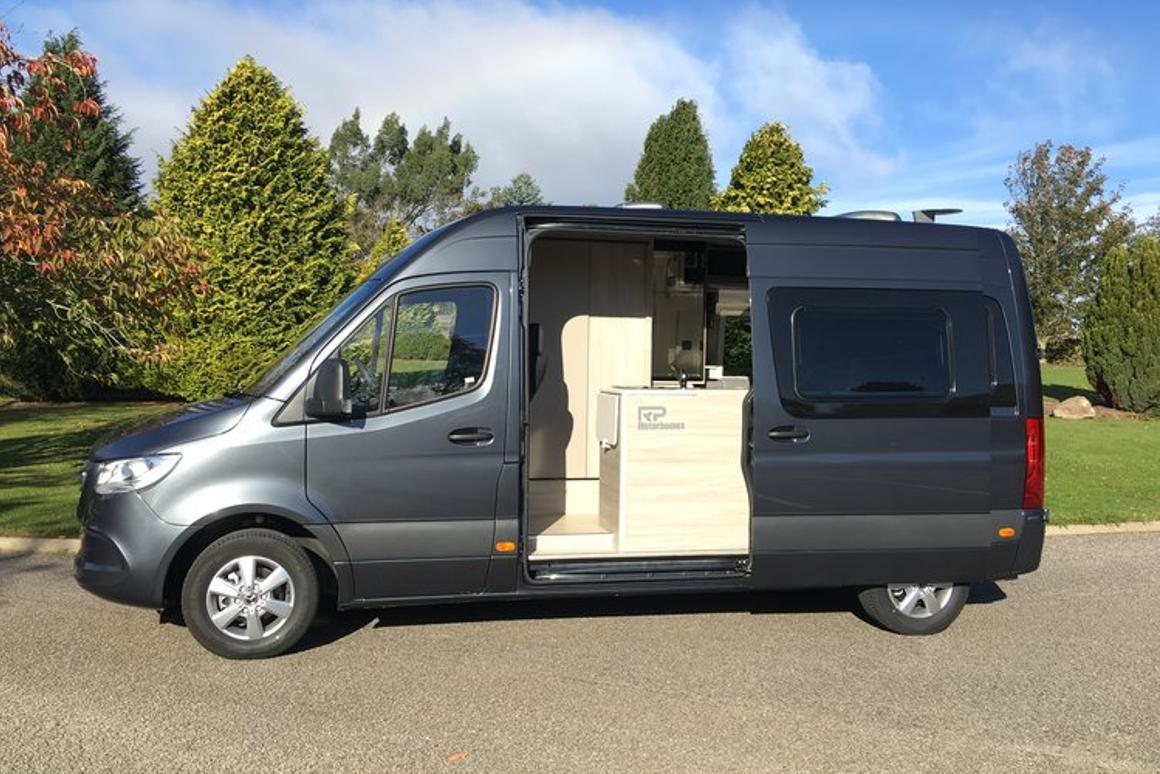 The Rebel is RPMotorhomes' small, entry-level van