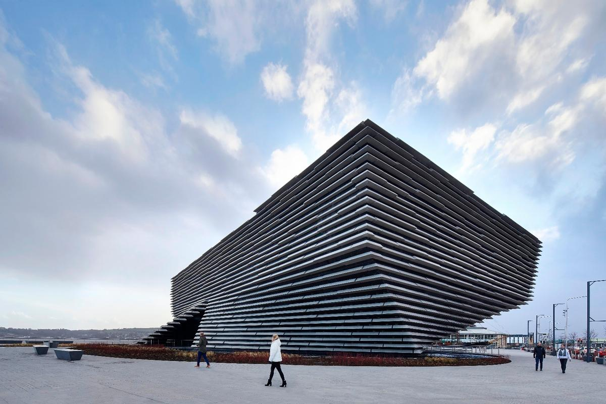 Set to open next month, the V&A Dundee is an undulating modern museum set on the banks of Scotland's longest river