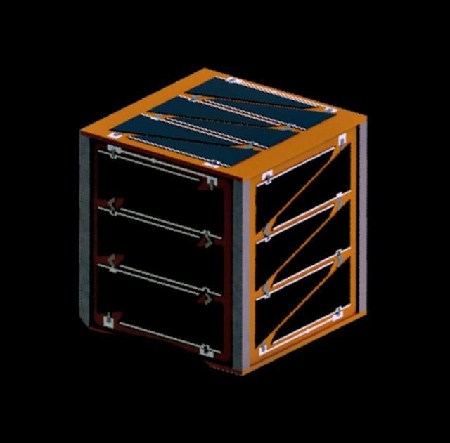 Space-grade solar panels for PocketQubes are produced by a third party