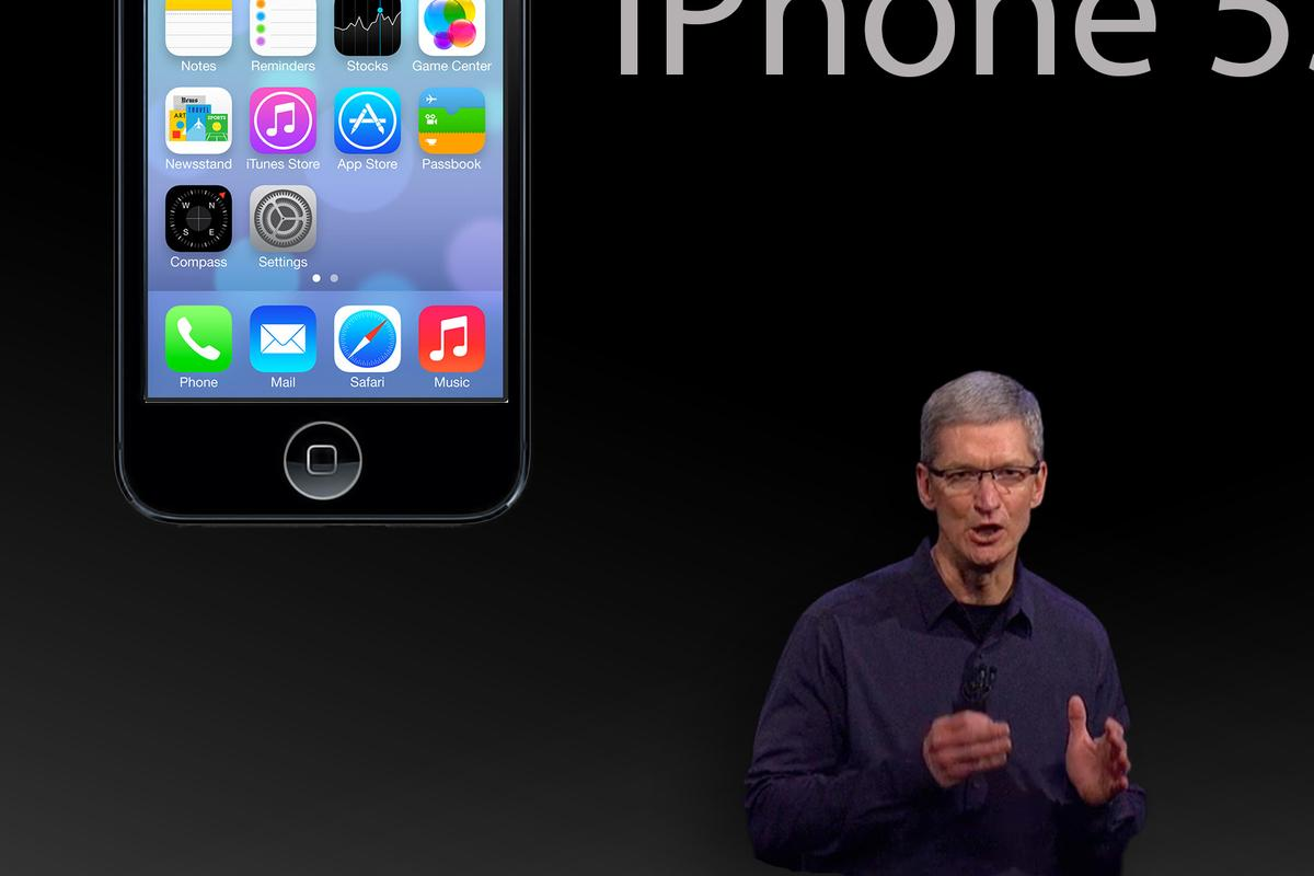 Expect CEO Tim Cook to take the stage and reveal the iPhone 5S