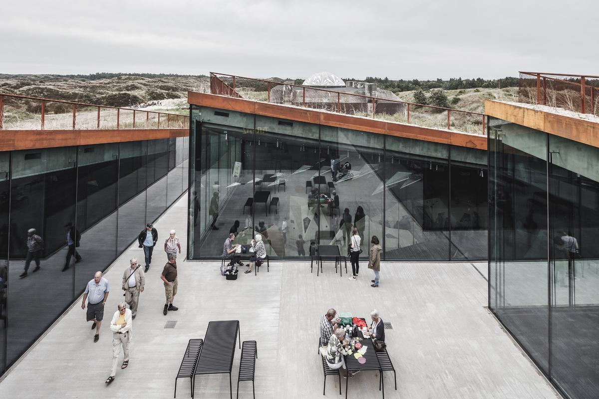 The Tirpitz Museum, by Bjarke Ingels Group, is one of the nine recipients of the American Institute of Architects' 2019 Institute Honor Awards for Architecture