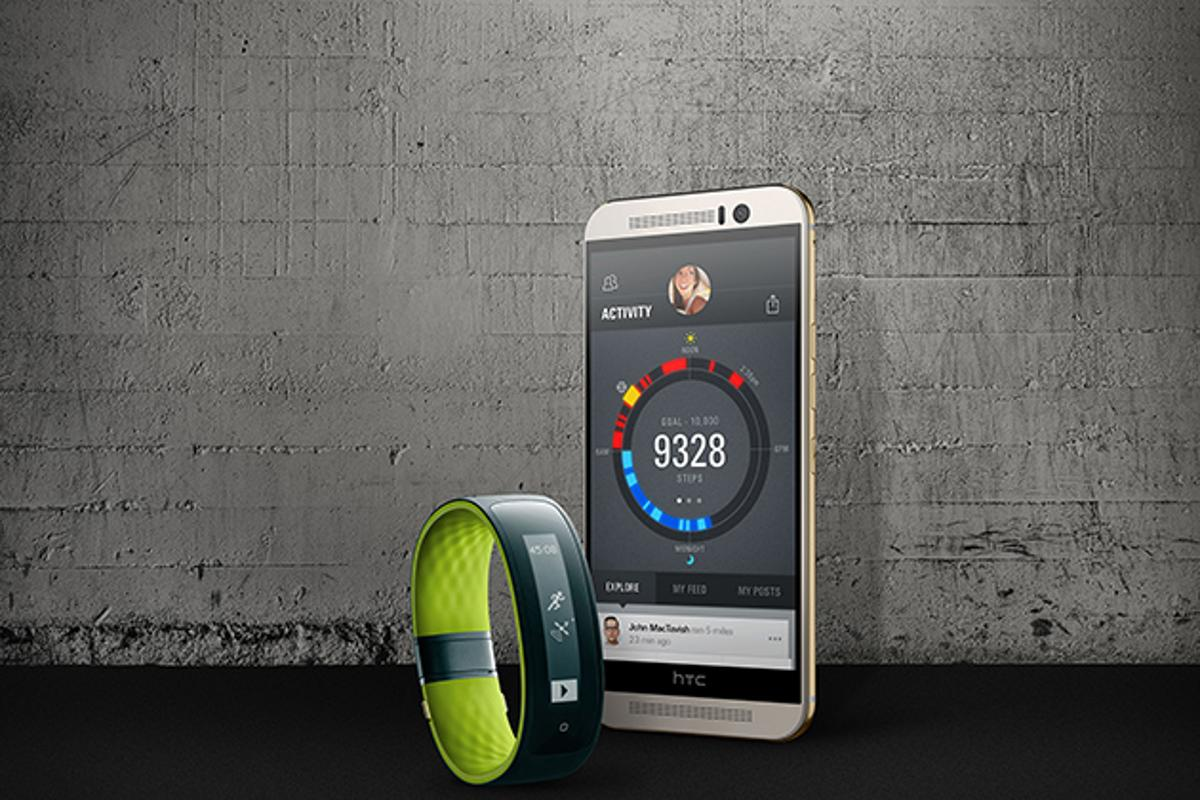 The HTC Grip tracker is powered by Under Armour Record, the clothing label's recently launched fitness tracking app