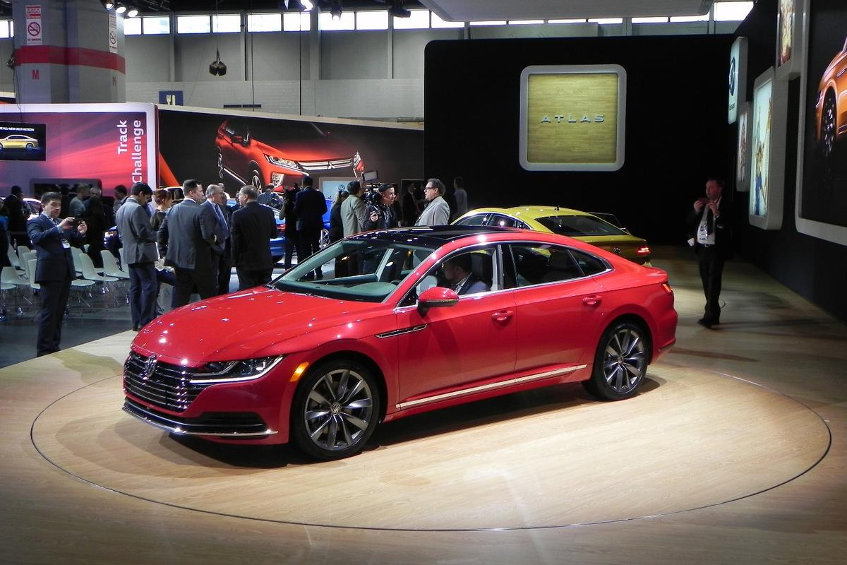 The 2019 Volkswagen Arteon enters US showrooms in the third quarter of 2018