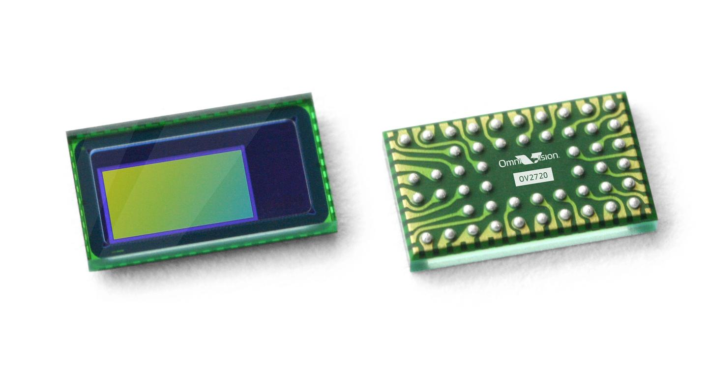 OmniVision has developed the world's first 0.13 inch native HD 2 megapixel CMOS sensor