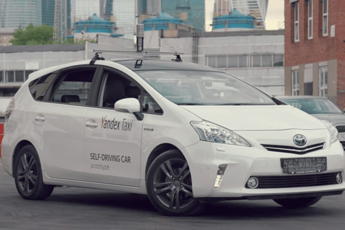 Yandex has chosen a Prius as the base for its self-driving car prototype