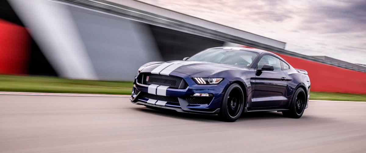 The 2019 GT350 is powered by a 5.2-liter V8, which produces 526 horsepower