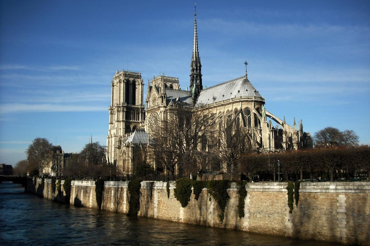 "French President Emmanuel Macron said he wants the Notre-Dame to be rebuilt ""even more beautifully,"" and for the work to be completed within five years (Credit: CC 2.0/Flickr user Klovovi)"