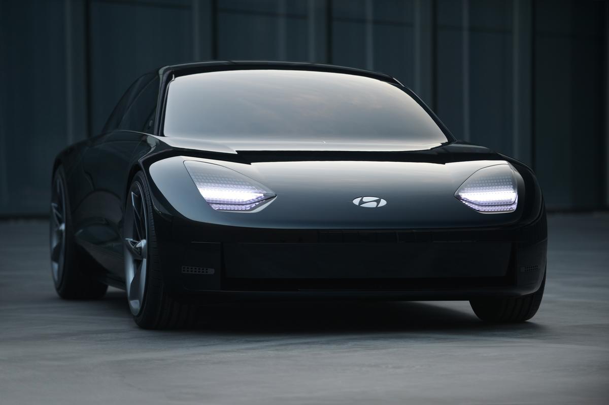 Hyundai has revealed the Prophecy concept sports EV