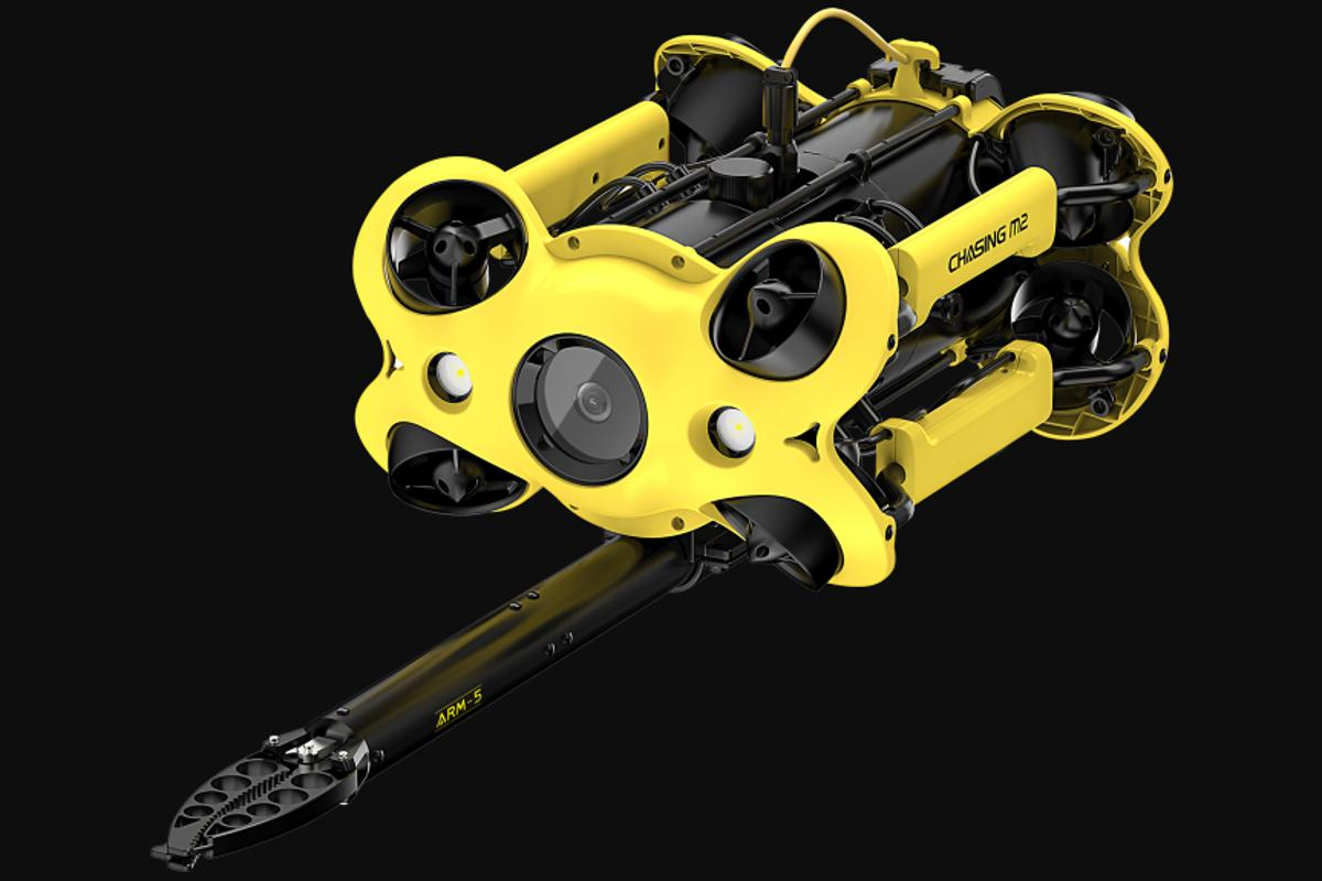 The Chasing M2 ROV reportedly tips the scales at 4.5 kg (9.9 lb)