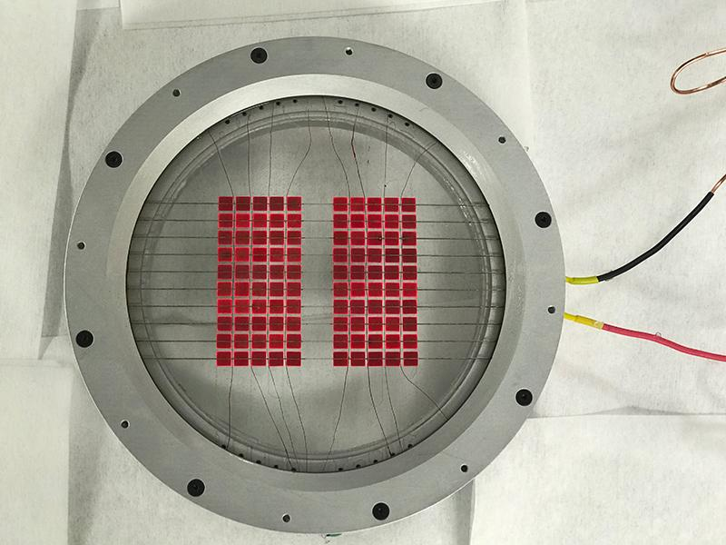 The photovoltaic module of the new hybrid solar converter