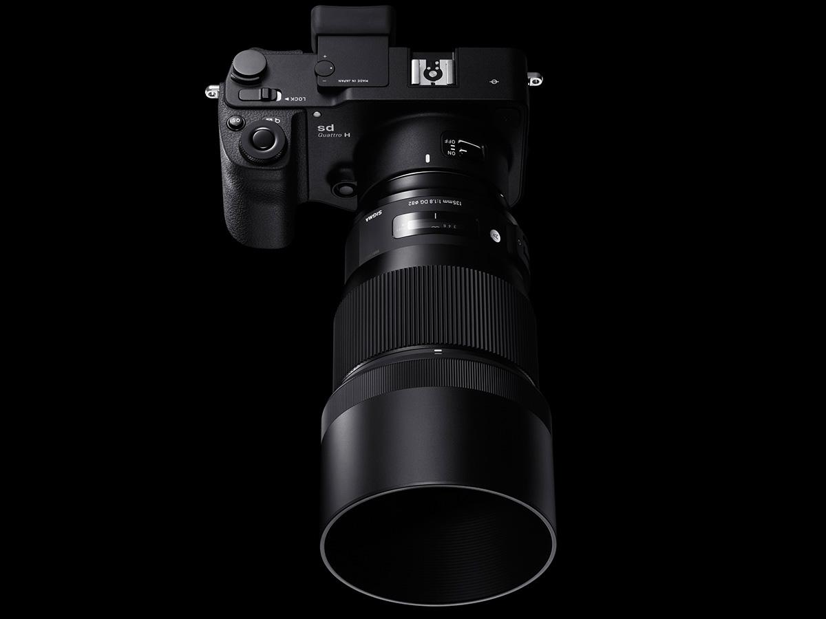 The Sigma 135-mm F1.8 DG HSM Art lens promises to meet the requirements of ultra-high-megapixel DSLRs