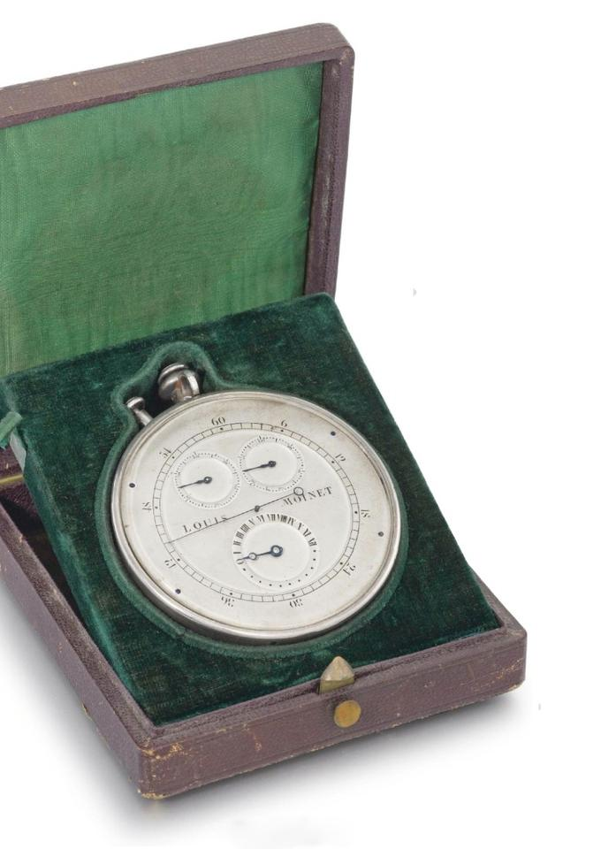 The compteur was discovered at a Christie's auction