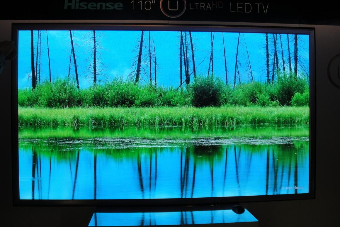 Hisense's XT900 line boasts an impressive 3840 x 2160 pixel resolution along with 120Hz panels allowing for an active shutter 3D picture