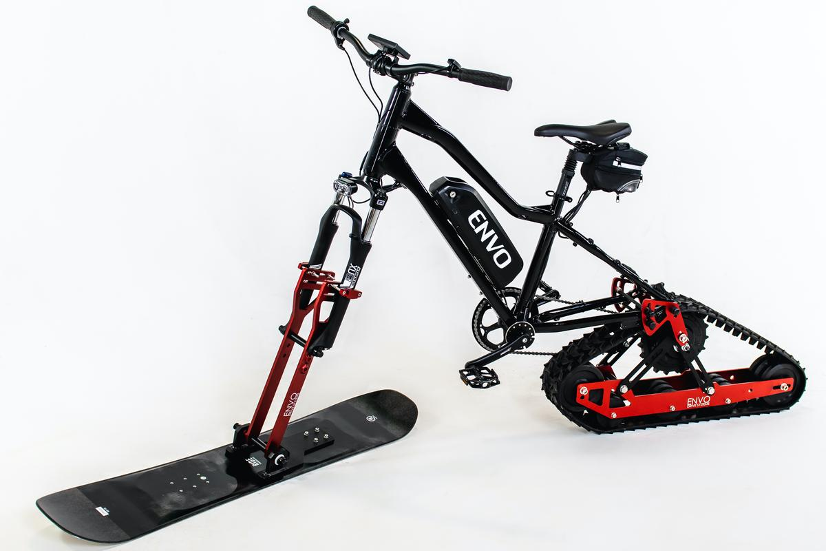 The kit is claimed to work with most existing mountain bikes