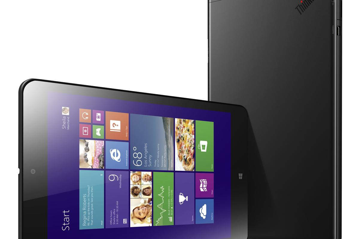 The ThinkPad 8 business tablet from Lenovo