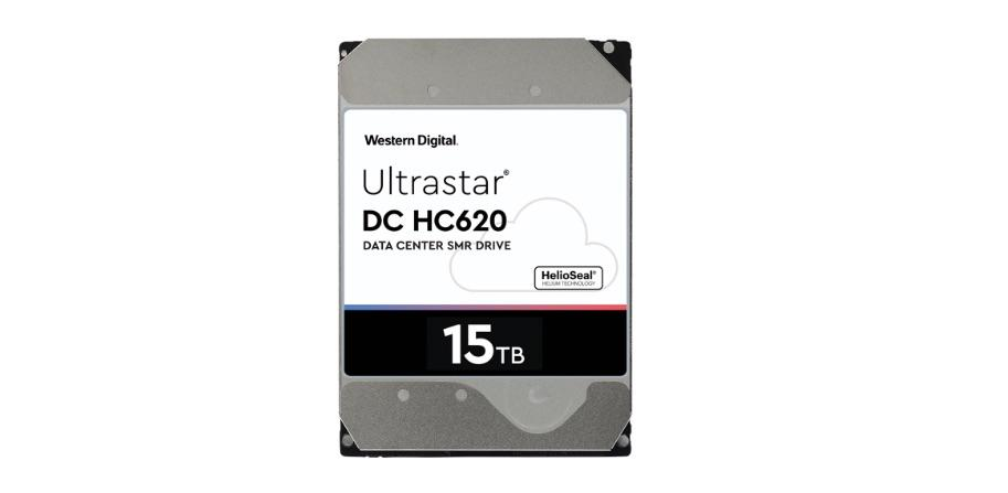 Western Digital's DC HC620 is the industry's highest capacity HDD