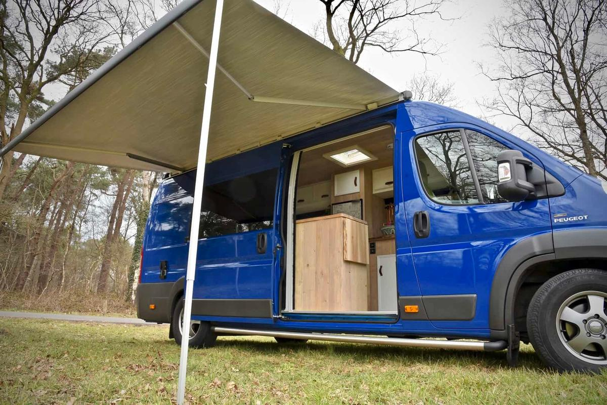 Dutch converter CustomCamp makes a special van for its own