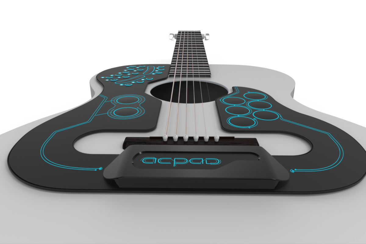 The ACPAD is the world's first wireless MIDI controller that offers access to a variety of programmable features