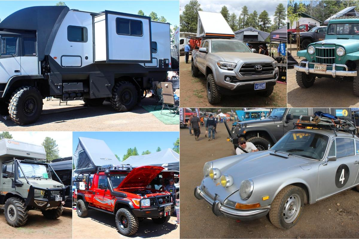 Expedition and adventure vehicles of every size and type at OX West 2018