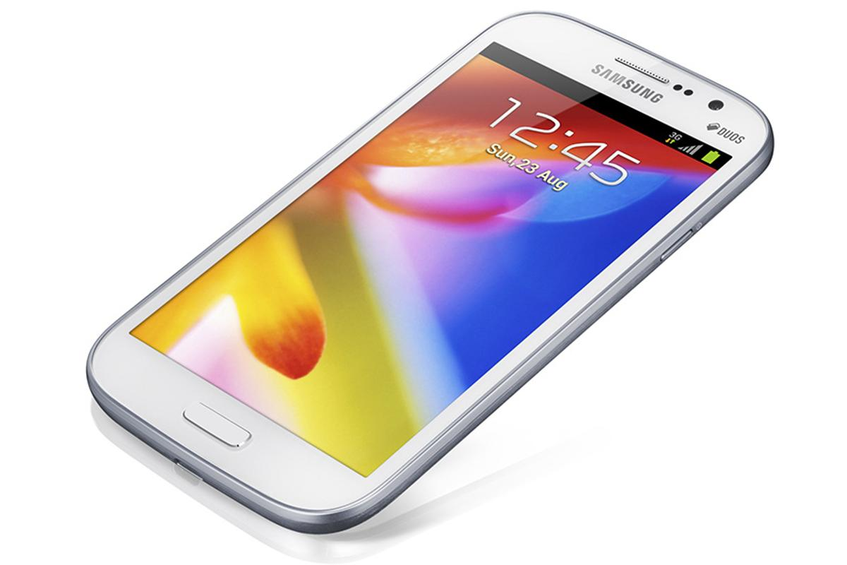 Samsung's new GALAXY Grand boasts a 5-inch display at 800 x 480 pixel resolution
