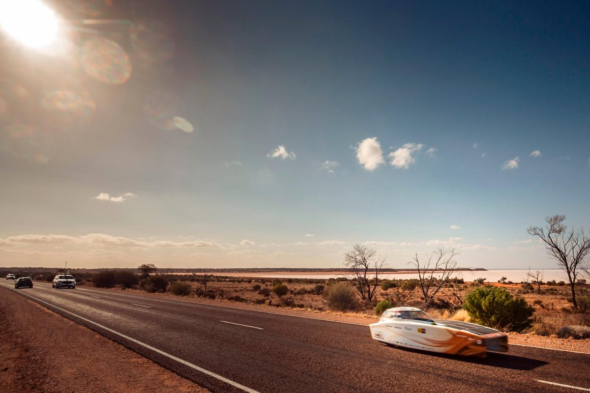 Nuon Solar Team appears to hold an unassailable lead heading into the final day of the World Solar Challenge
