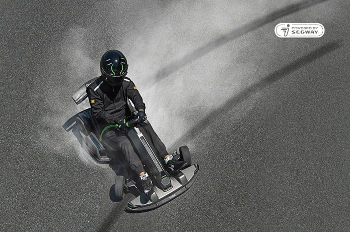 Segway Ninebot has taken to Indiegogo to raise funds for production of its Gokart Pro