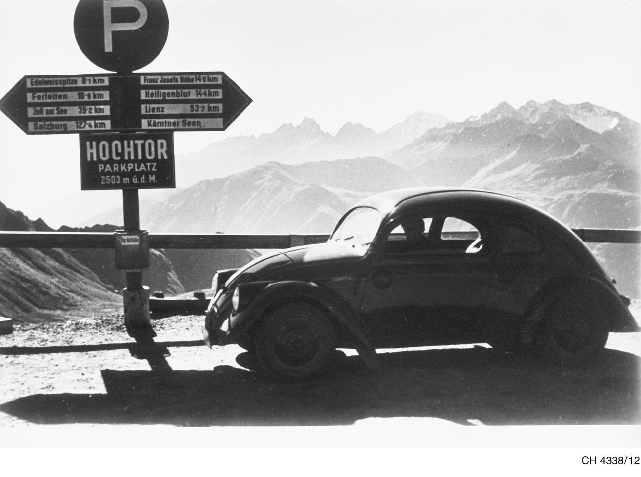 VW 30 на Großglockner, 1937 год