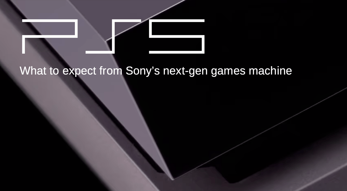 This is not the PlayStation 5, or its logo: how they'll look is one thing we don't yet know…