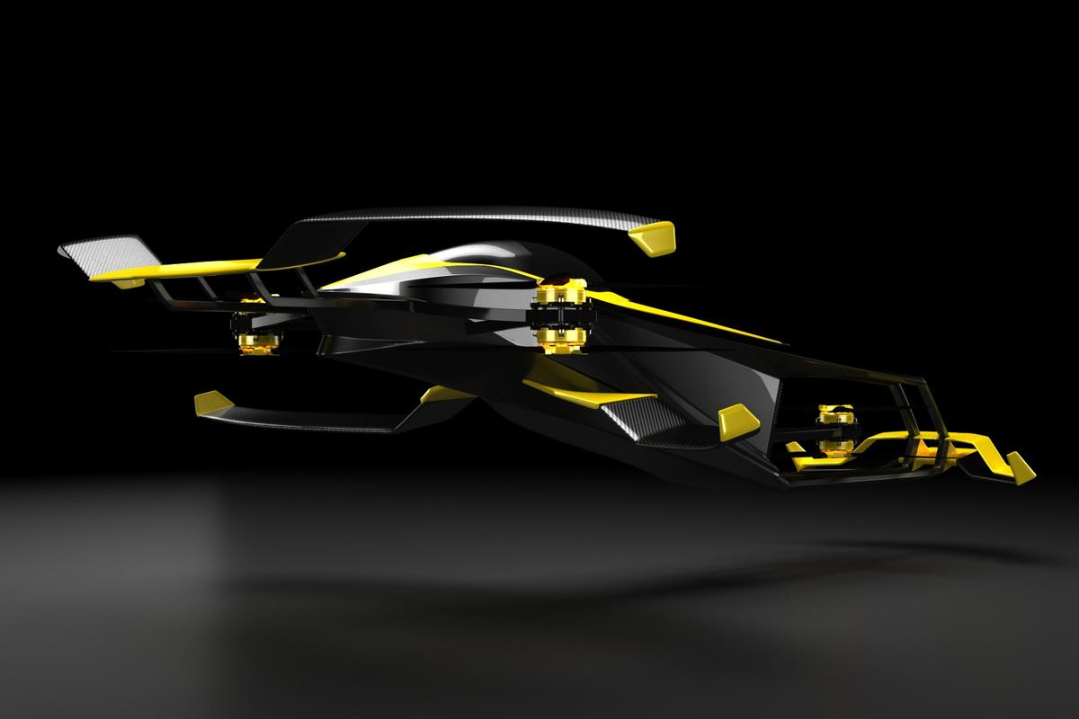 MACA hopes to develop a semi-autonomous, human-piloted H2 racing copter