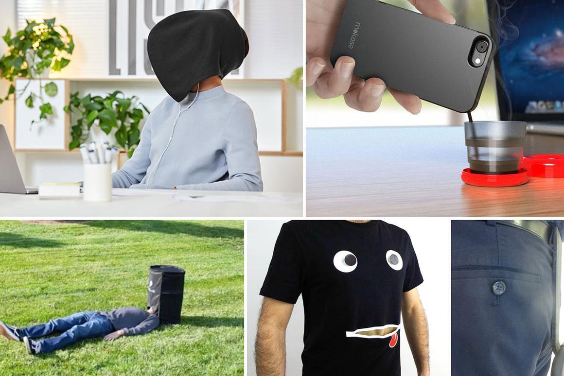 New Atlas rounds up the weirdest Kickstarter ideas we've seen lately