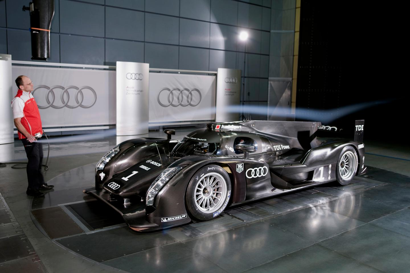 The new Audi R18 LMP1 sports car