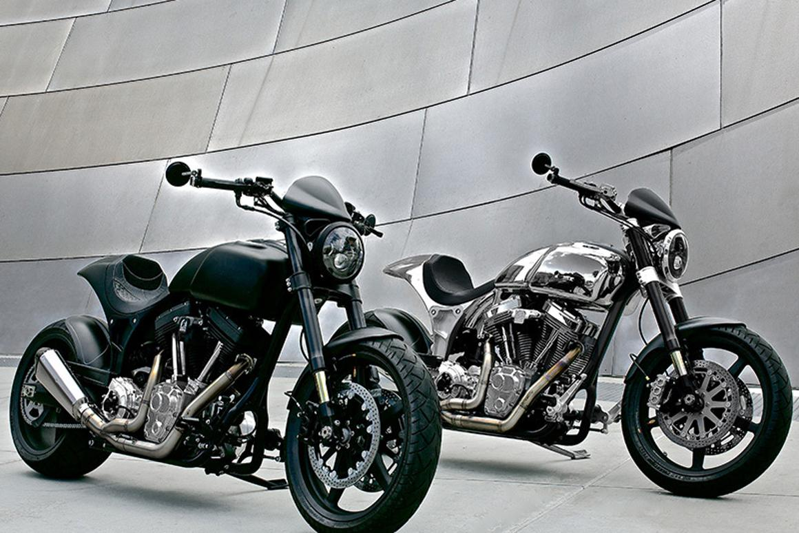 Arch Motorcycle Company's KRGT-1 - available in bare billet or black
