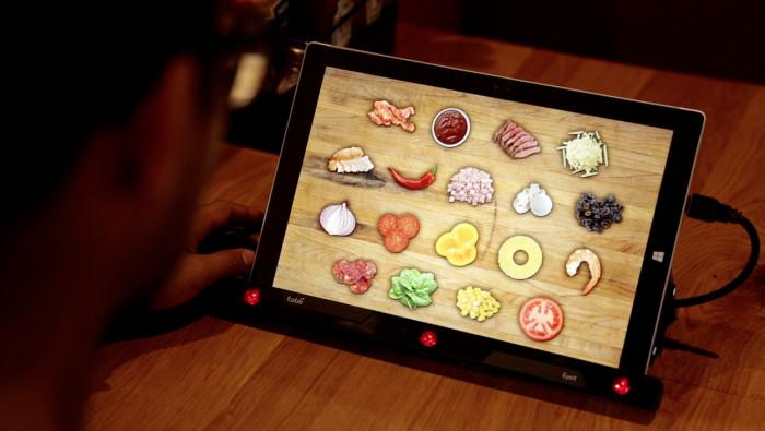 Pizza Hut's eye-tracking Subconscious Menu