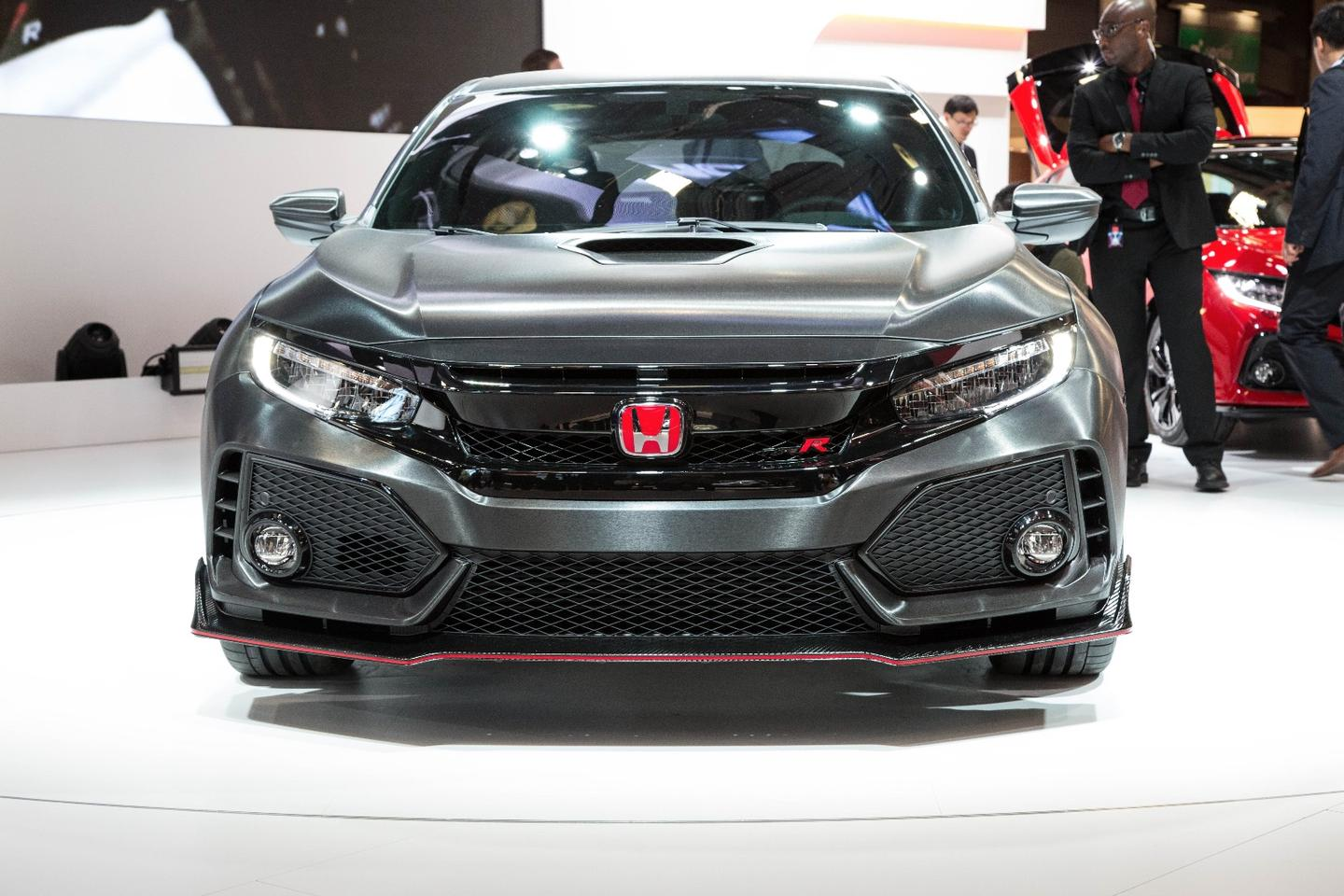 The Honda Civic Type-R Prototype is seriously menacing