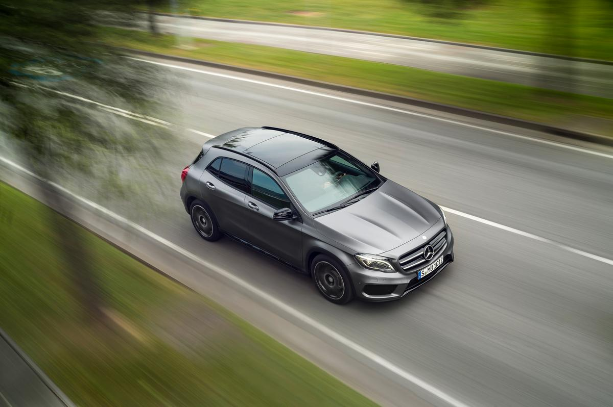 The GLA-Class will premiere at the 2013 Frankfurt Motor Show