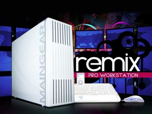 The MAINGEAR Remix Creative Workstation PC.