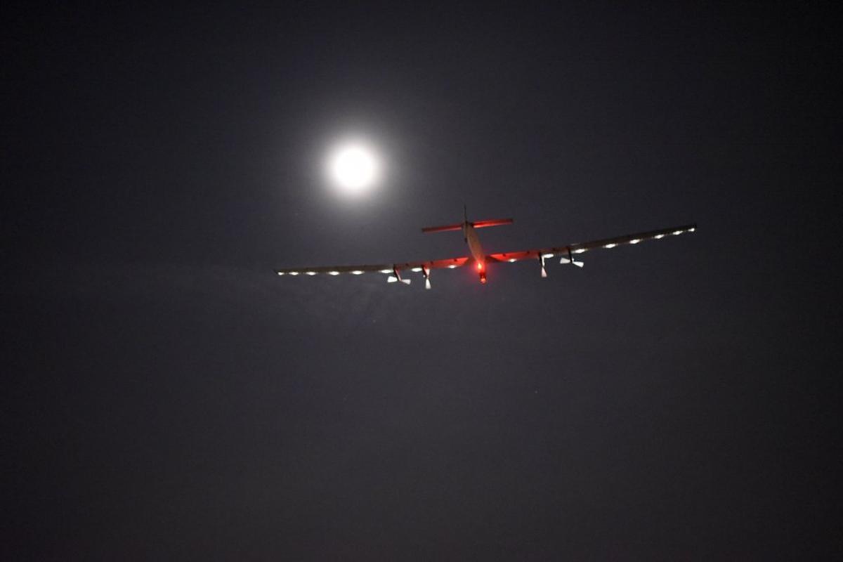 Solar Impulse 2 is now headed toward Pennsylvania